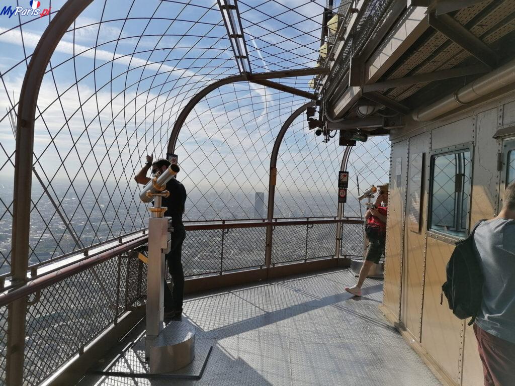 Taras widokowy na wieży Eiffla