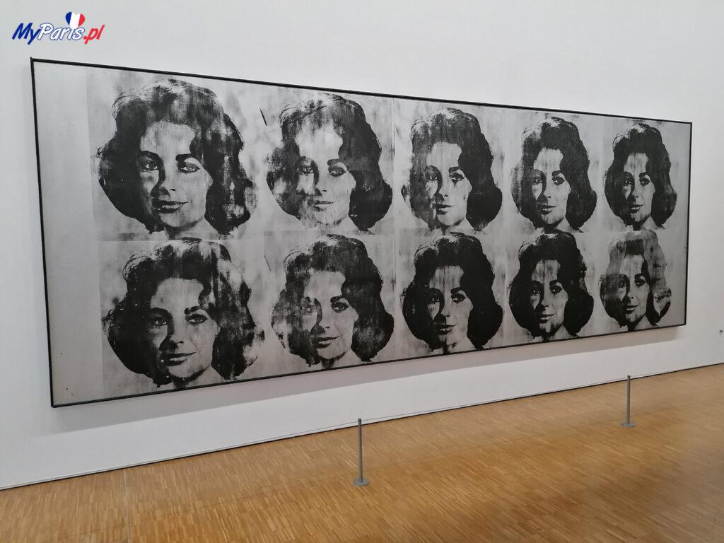 Andy Warhol - Ten Lizes w Centrum Pompidou
