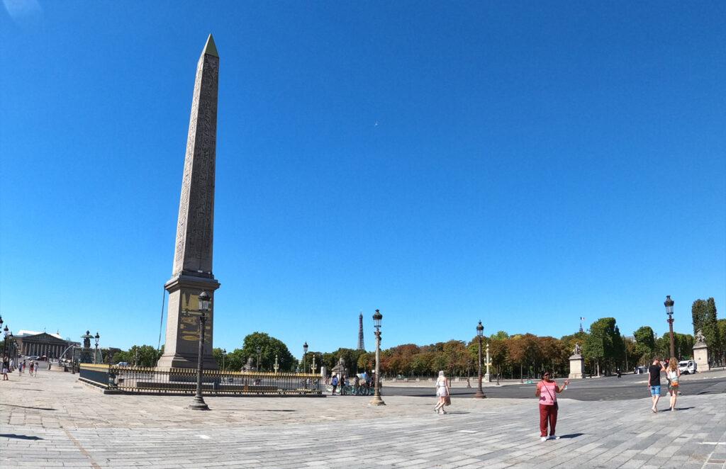 Obelisk Egipski na place de la Concorde