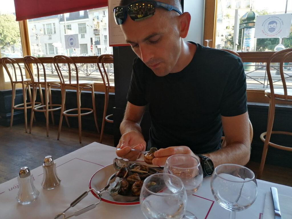 Na ślimakach w restauracji Bouillon