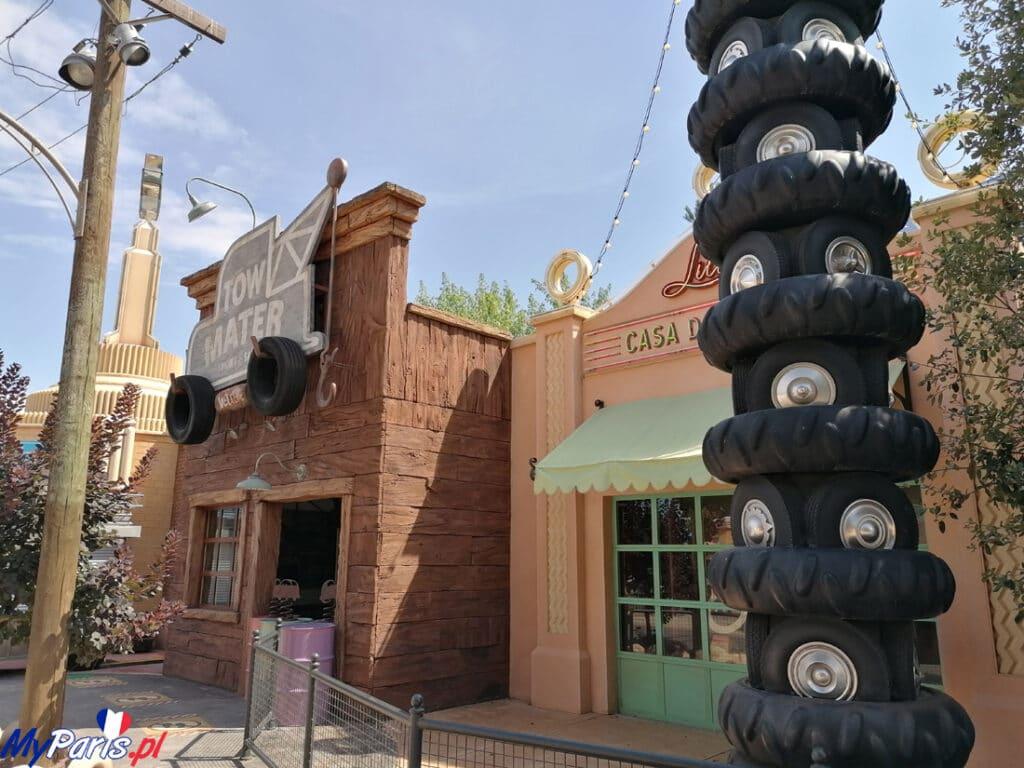 Część inscenizacji w Walt Disney Studions