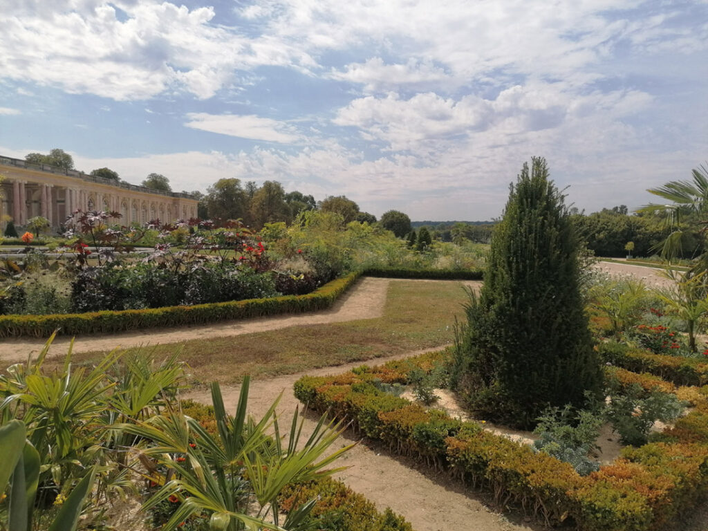 Grand Trianon - pałacowy ogród