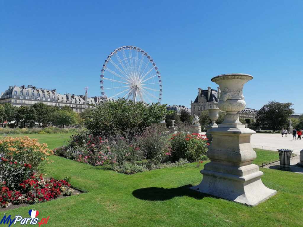 Ogród Tuileries- Diabelski Młyn