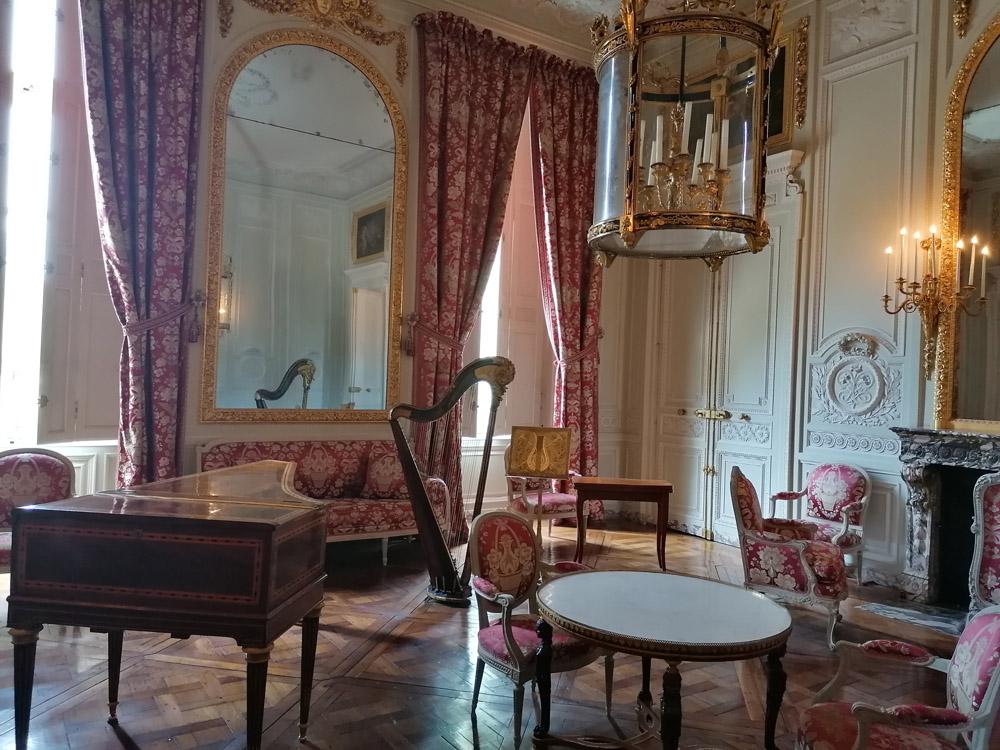 Petit Trianon - wnętrze