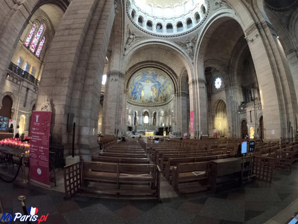 Bazylika Sacre Coeur wewnątrz