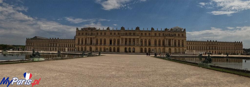 Pałac w Wersalu od strony ogródów